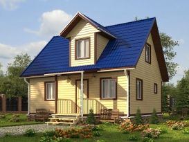 Дома из бруса под ключ недорого в Санкт-Петербурге. Проекты и цены домов из бруса