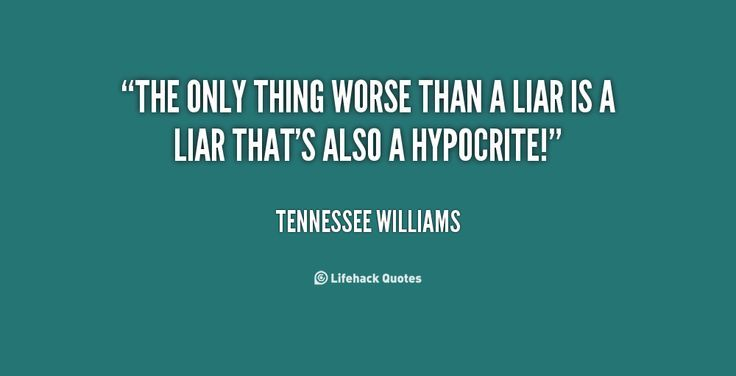 Quotes About Lying And Karma: Best 25+ Quotes About Hypocrites Ideas On Pinterest