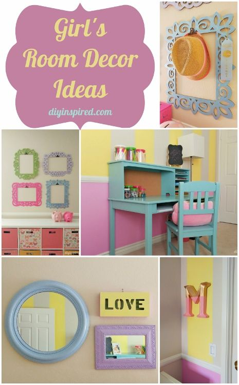 Girls Bedroom D Cor Idea Diy An Amazing Bedroom For Your Little One Or Preteen With