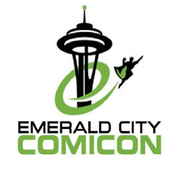 2015 Emerald City Comicon Seattle (ECCC) One 3-Day Pass