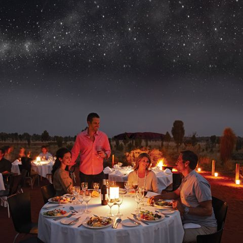 Sounds of Silence - dinner under the stars by Uluru. Pricey but sounds worth it?