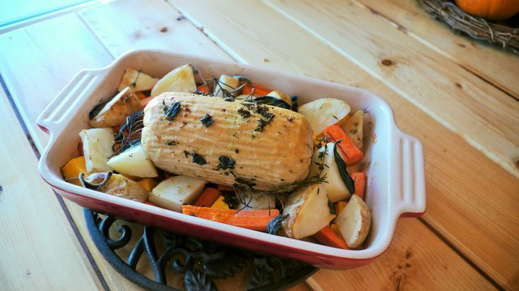 """How the Heck to Cook a Vegetarian """"Quorn Turk'y Roast"""" for Thanksgiving -"""