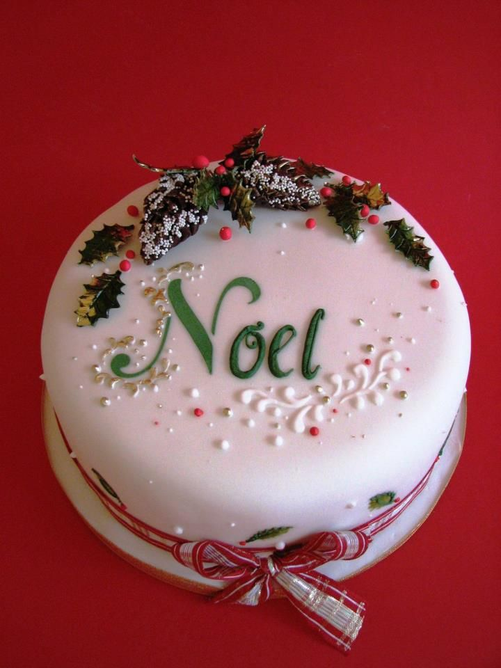 Best 25 Christmas Cake Designs Ideas On Pinterest
