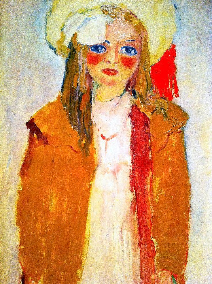 hat. Kees van Dongen - Dolly, the artists daughter