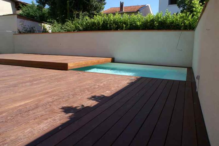 de piscines en bois composite  Terrasses  Spas  Paris  Montpellier