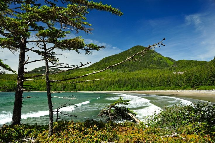 Bonanza Beach, Haida Gwaii, Canada