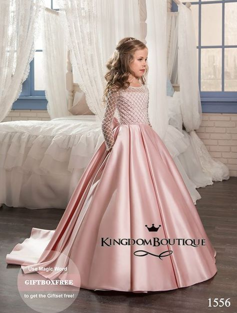 Flower girl dress 16-1556 - kingdom.boutique  bae7c6807d7f