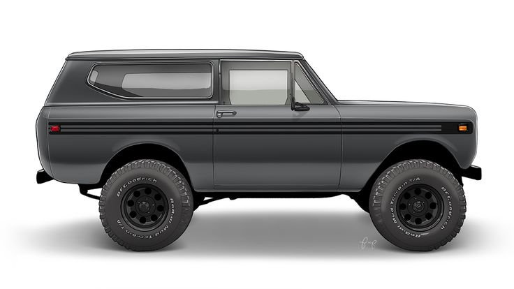 International Scout II Render on Behance