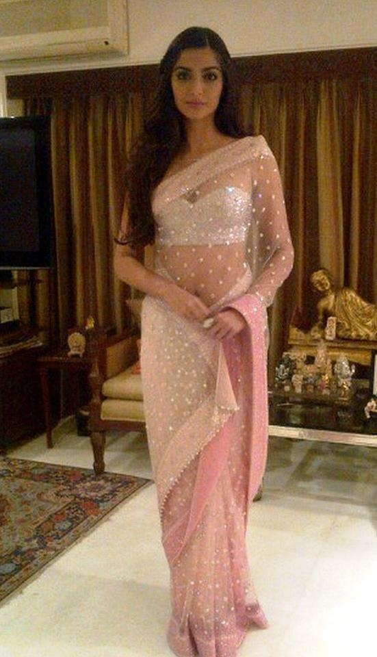 Nice Saree!!!! And she's pretty