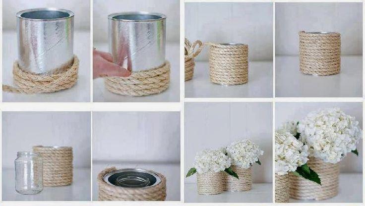 ARTESANATO COM QUIANE - Paps,Moldes,E.V.A,Feltro,Costuras,Fofuchas 3D: reciclagem: Usando latas de leite
