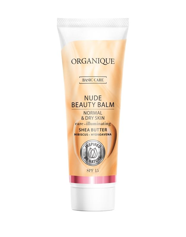 Krem upiększający dla skóry suchej i normalnej - Nude Beauty Balm - ORGANIQUE