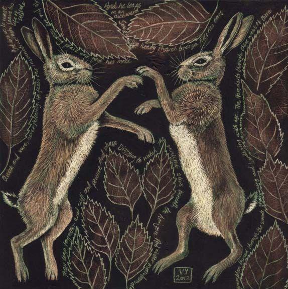 March Hares by Vikkki on deviantART