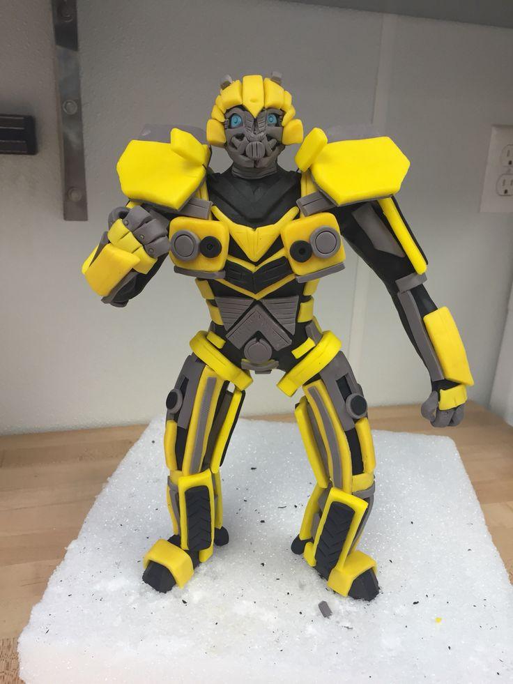 Modeling chocolate Bumble Bee
