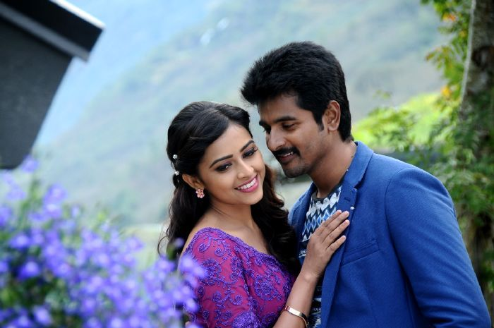 Kaaki Sattai high quality photos stills images pictures. Siva Karthikeyan and Sri Divya starring Kakki Sattai Movie stills and image gallery.