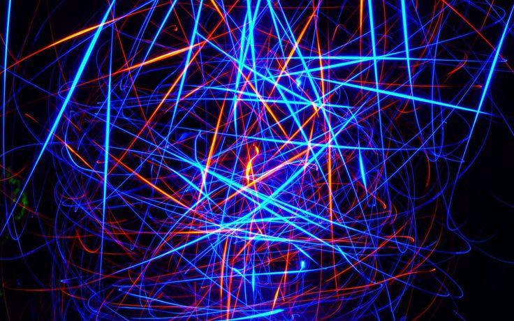 colourful art laser wallpaper Wallpaper