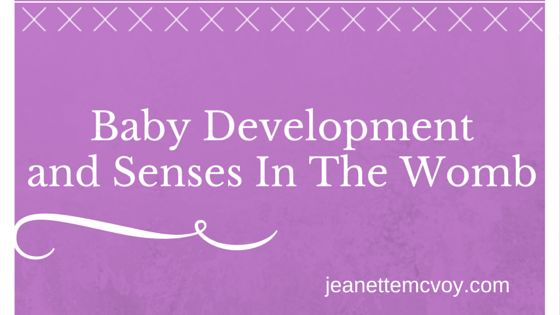 Baby Development and senses in the womb #pregnancywomb