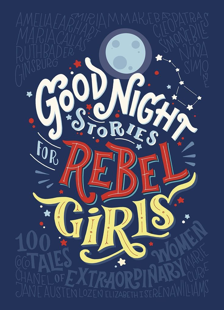 'Good Night Stories for Rebel Girls' introduces us to 100 remarkable women and their extraordinary lives. From Marie Curie to Malala, Ada Lovelace to Zaha Hadid, it brings together the stories of scientists, artists, politicians, pirates and spies.