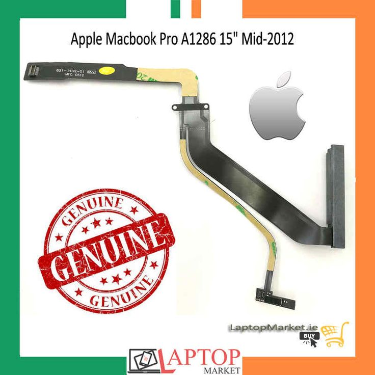 """#Brand New #Genuine #Apple #Macbook Pro #A1286 15"""" #Mid-2012 #Hard #Drive #Cable 821-1492-01 821-1492-A"""