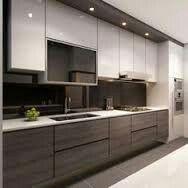 Sleek and modern cabinets <3