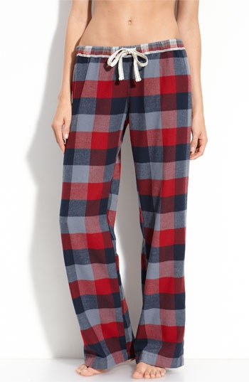 Flannel pants ... Love em but don't wear em to Wal-Mart :)
