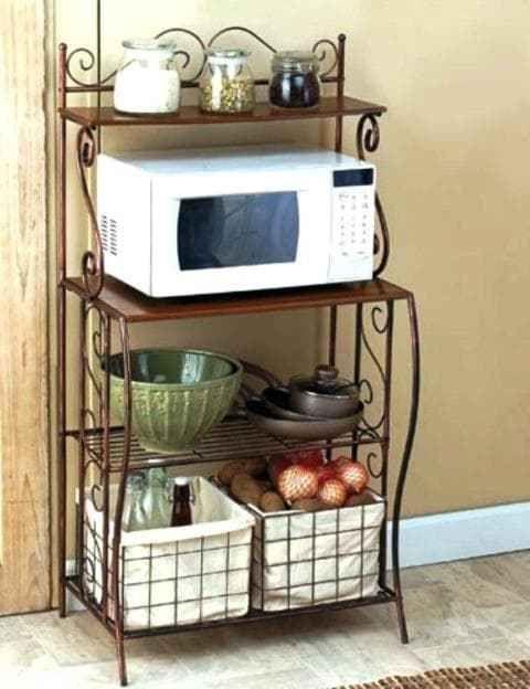 Ideas para crear un espacio para microondas en la cocina ... f414712174a0