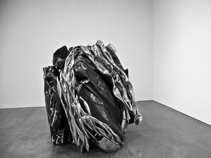 New sculpture by john chamberlain is on view until july 8 at the gagosian gallery 555 west street new york
