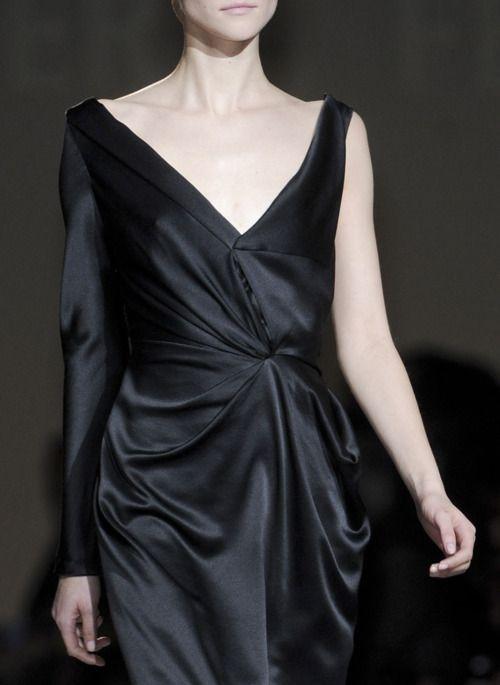 Fashion, Black Glamorous, Black Clothing, Black Dresses, Ferretti Fw, Alberta Ferretti, Dresses Collection, Ferretti F W, Fw 2012