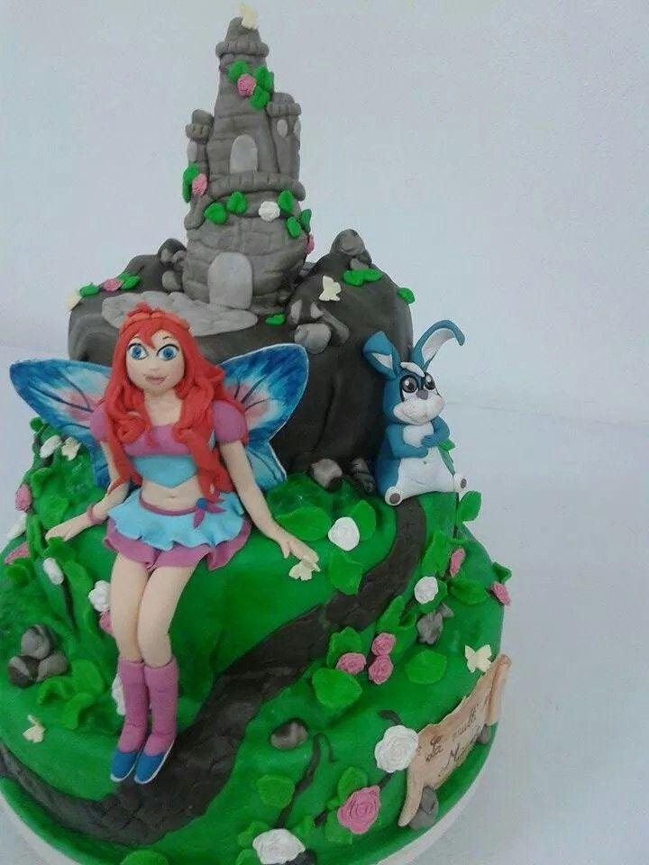 Cake bloom winx