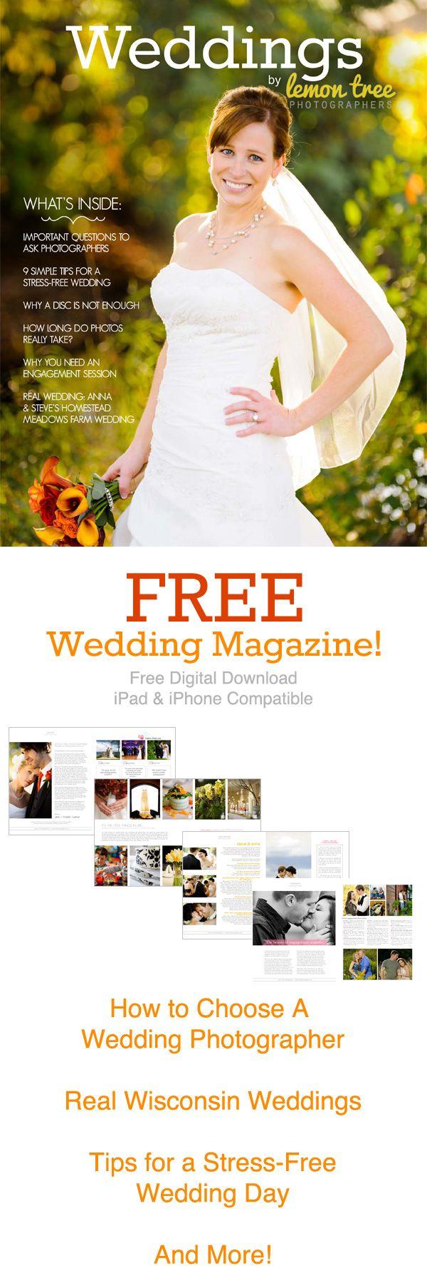 Free Wedding Magazine - Digital Download, iPad & iPhone Compatible