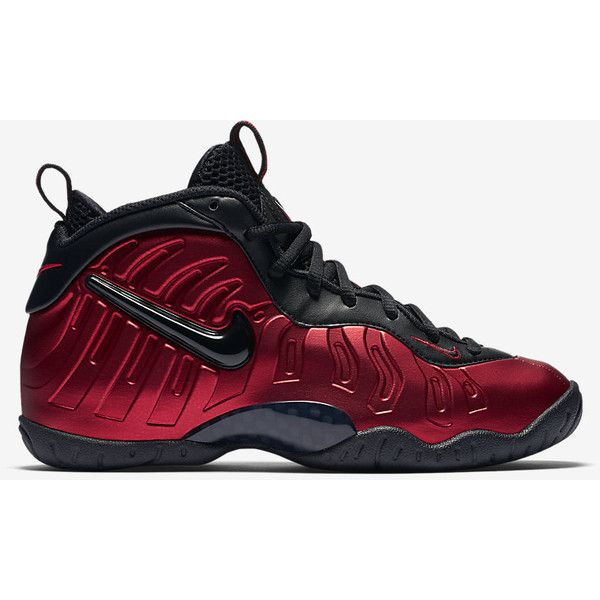 Nike Little Posite Pro (3.5y-7y) Big Kids' Shoe. Nike.com ($180) ❤ liked on Polyvore featuring foams