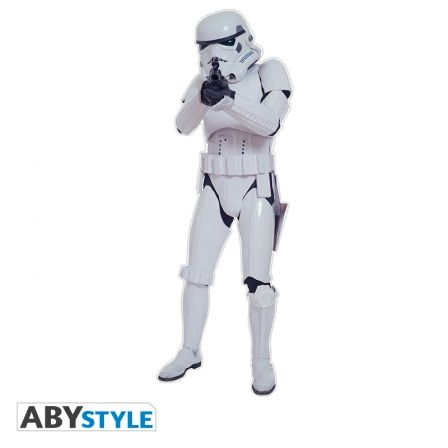 STAR WARS Sticker Star Wars Storm Trooper Echelle 1