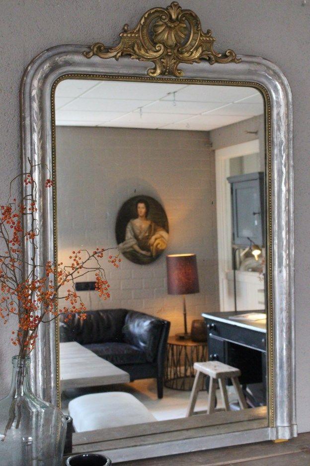 25 idee n die je leuk zult vinden over antieke spiegels for Antiek interieur