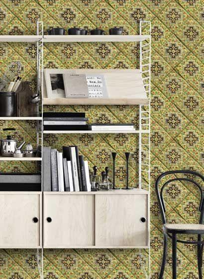9 best Mindthegap Tapeten images on Pinterest Geometry, Mind the - fliesen tapete küche