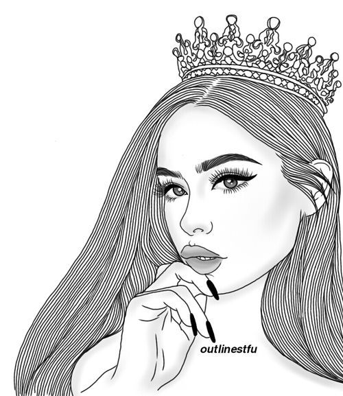Mejores 50 imgenes de Dibujos de chicas tumblr en Pinterest