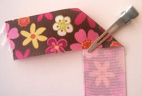 Stuha Kvety podľa MakeBowsandMore.com: Ribbon Flower Tutorial