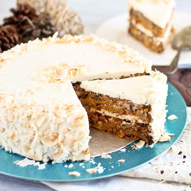 Some-Shade-of-Paleo Carrot Cake