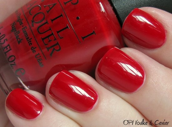 red: Nails Makeup Jewelry, Fav Colors, Christmas Colors, Favorite Colors, Red Nails, Opi Vodka, Nails Polish, Gorgeous Red, Red 1