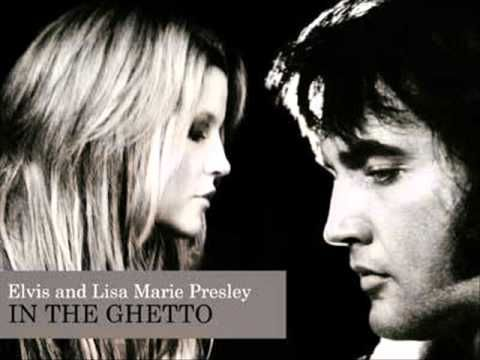 In The Ghetto ~ Lisa Marie and Elvis Presley