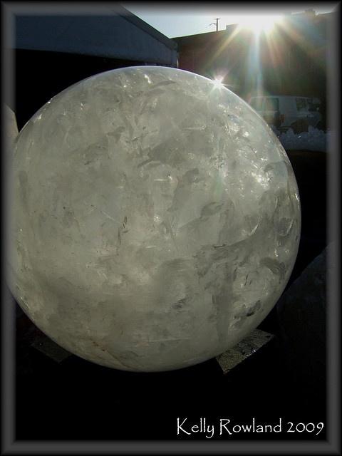My crystal ball! I wish...