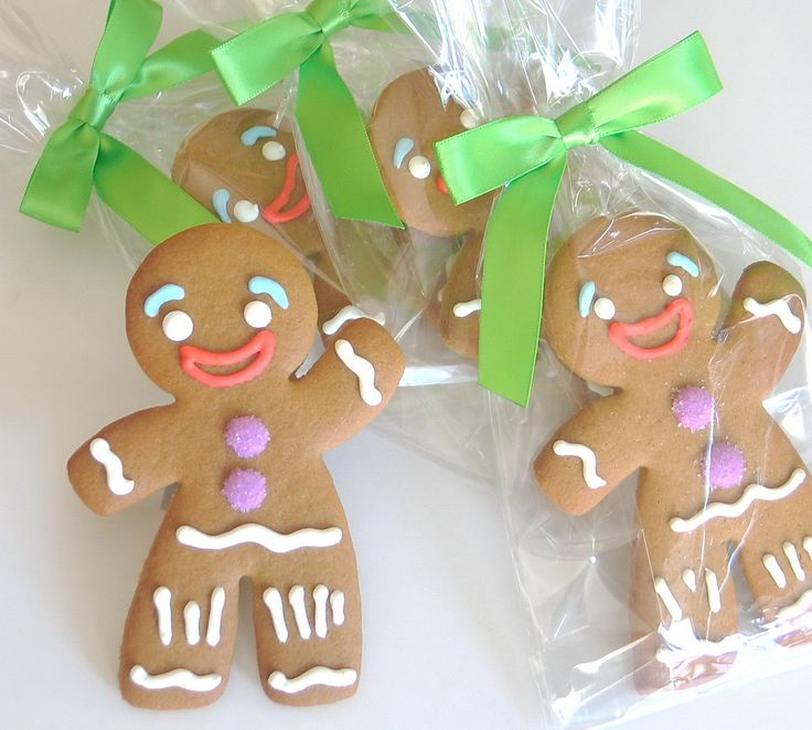 #Gingy Custom #Gingerbread Cookies by Rolling Pin Productions, $4.75 per wrapped cookie.  www.rollingpinproductions.com [212] 243 1158