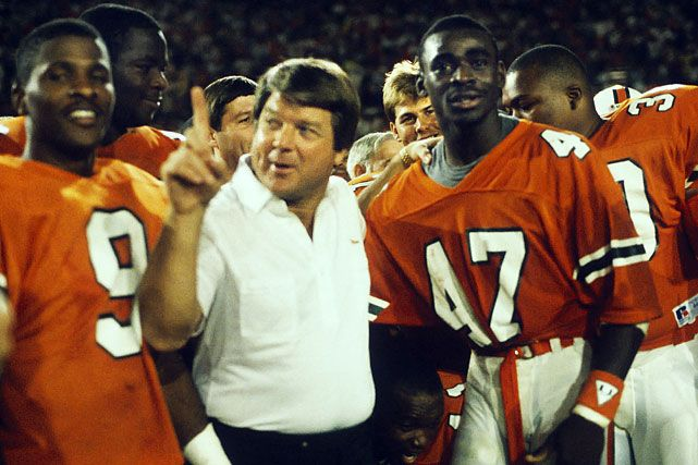 Jimmy Johnson and Michael Irvin showing the world who's #1!