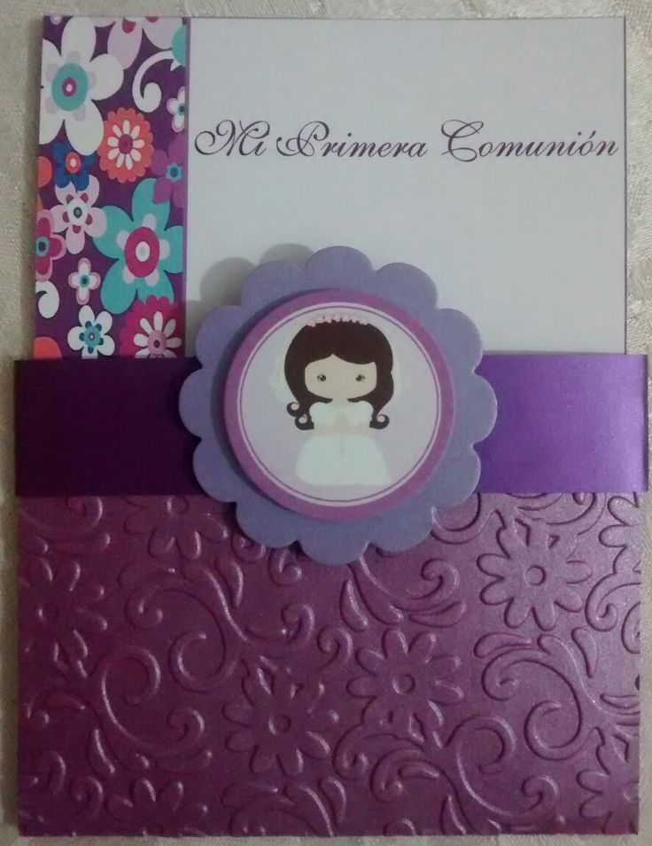 first comunnion cards