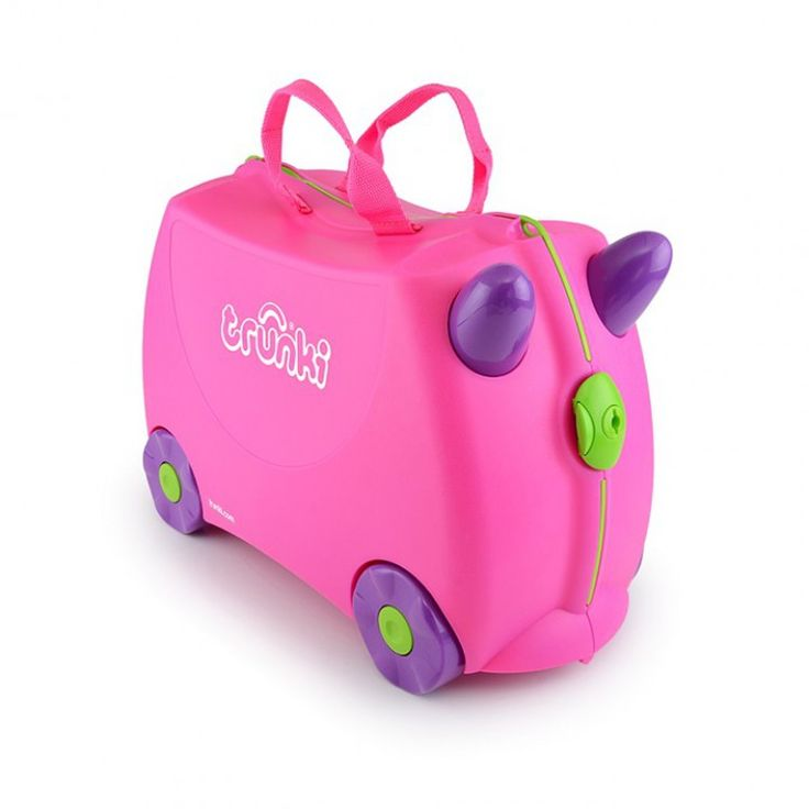 john-andy.com | Trunki Trixie Pink Παιδική Βαλίτσα Ταξιδίου 0061-GB0