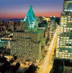 Fairmont Hotel, downtown Vancouver, BC-I have been in the lobbey during the Olympics...but would love to be a guest of this historic and gracious inn!
