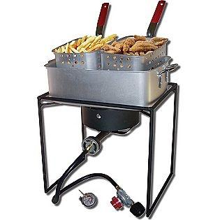 "King Kooker® 16"" Outdoor Fish Fryer with 15Qt. Rectangular Fry Pan- King Kooker®"