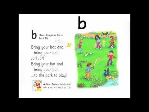 Jolly Phonics Songs in ORDER! (Letters and Sounds) The British Early Years Centre.mov