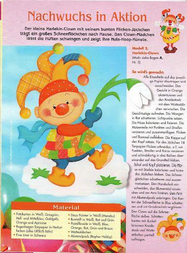 Sonderheft Fensterbilder Clowns - jana rakovska - Álbumes web de Picasa