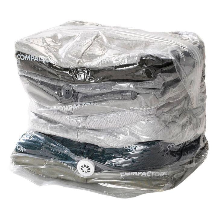 Compactor Express Travel Vacuum Storage Bag, Multicolor