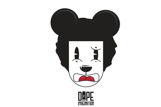 This is a series of pics about my daughter that my hunny bunny designed. #DopeIllustration