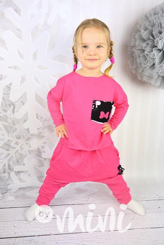 Minnie - baggy & triko - By Mini - moderní oblečení pro děti